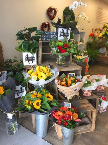 Zinnia Floral Design Napier shop